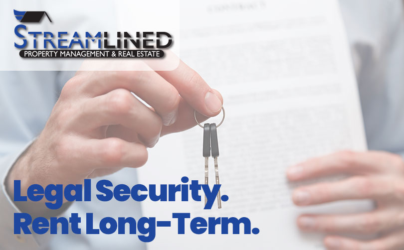 Secure an annual lease